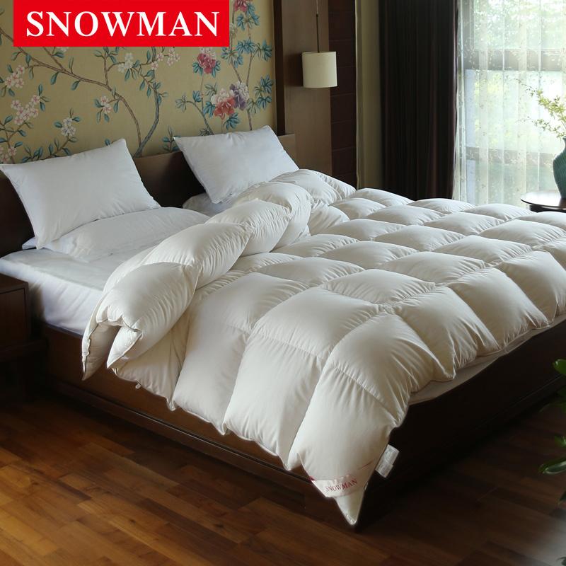 Luxury Soft Feeling White Duck Down Duvet for Hotel
