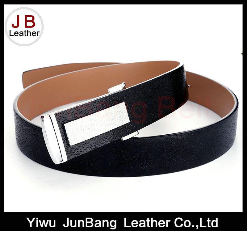 Unique Style Plate Buckle PU Belt