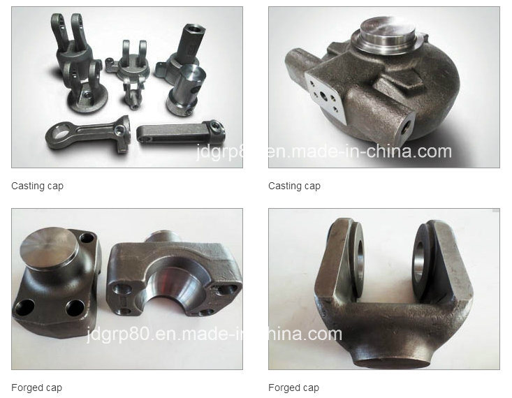 Casting, Forging, Machining Parts of Hydraulic Cylinder