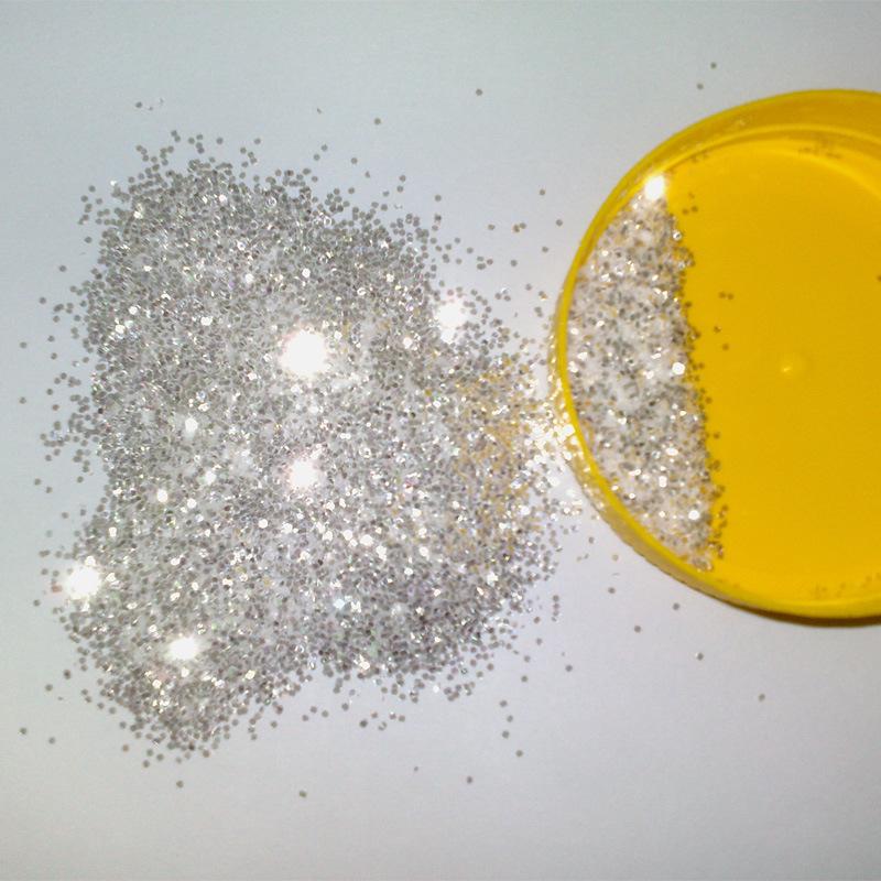 Wholesale High Shine Silver Diamond Glitter Powder