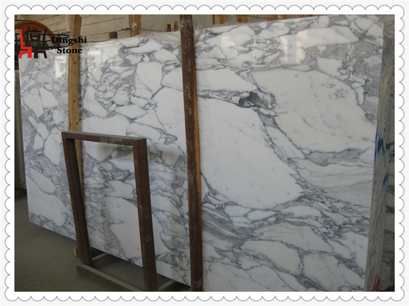 Arabescato Corchia White Marble Slab for Wall Cladding/ Flooring Tile