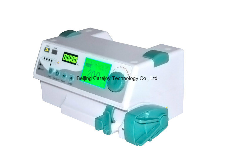 Factory Price Ce Approved Syringe Pump with Voice Alarm and Drug Store (SP-50B) -Fanny