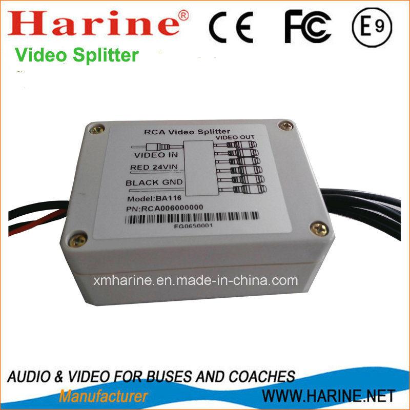 RCA Audio Video Splitter Amplifier
