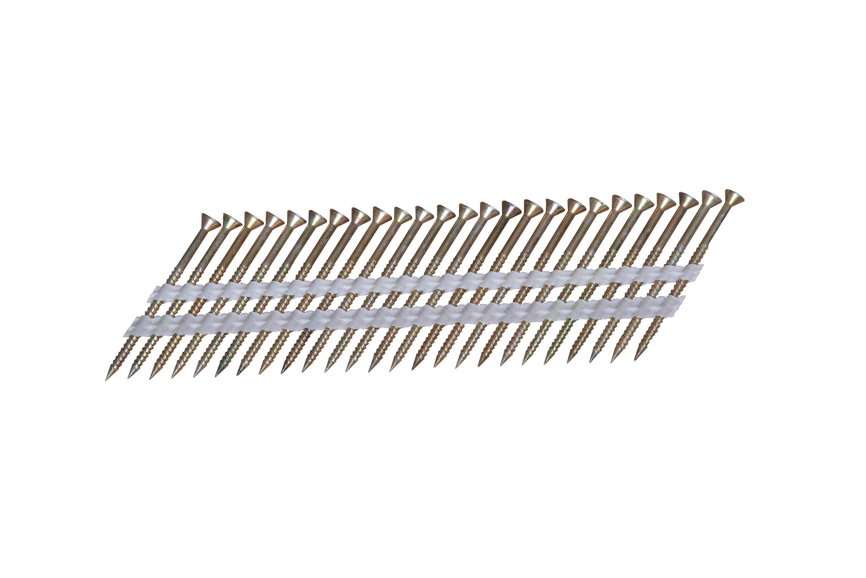 Nailscrew 16 Deg Wire Collated Screw