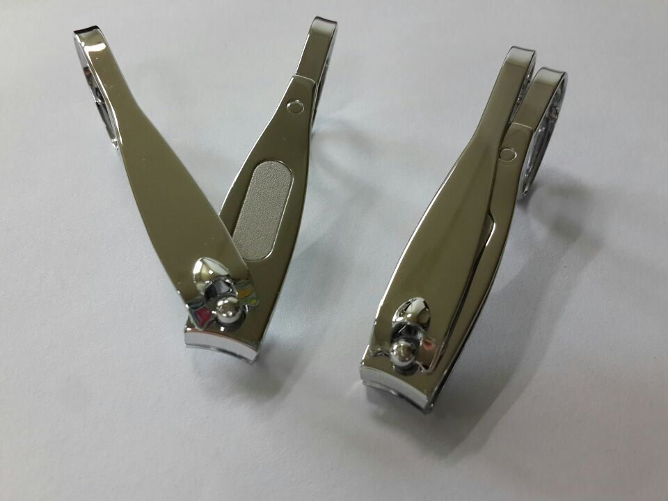 7.6cm Toenail Cutter with Scissor Handle and Laser File