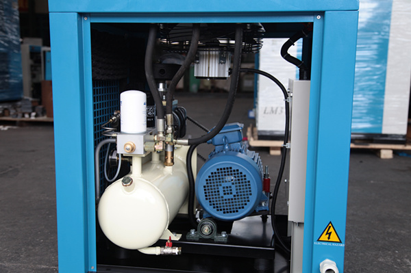 Air Cooled Rotary Oil Lubricated Industrial Screw Compressor