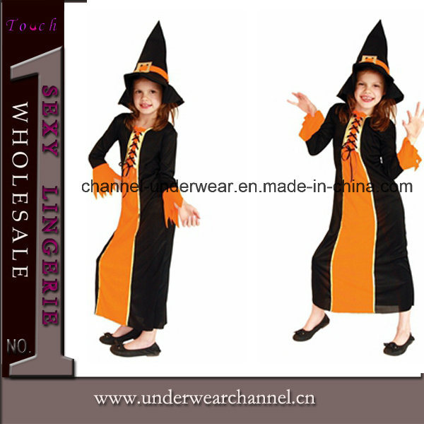 Good Quality Children Halloween Witch Party Costume (TGY0065)