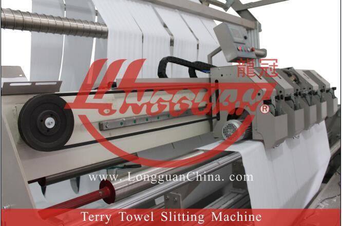 Automatic Terry Towel Slitting Machine