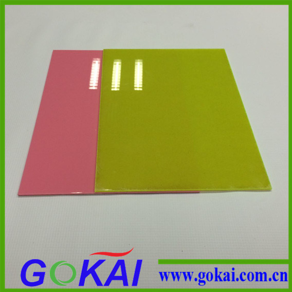 Red Color Acrylic Sheet with 0.8mm-30mm