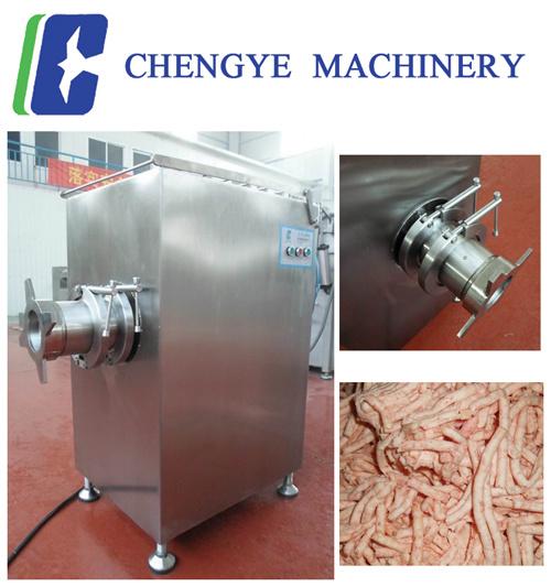 Beef Frozen Meat Mincer Grinder 600kg Per Hour