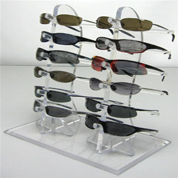 Custom Clear Acrylic Eyewear Display Stand. Sunglasses Display, Eyeglass Display