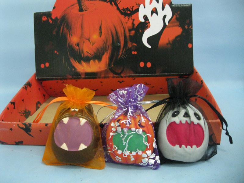 Halloween Pumpkin Ceramic Arts and Crafts (LOE2373B-6)