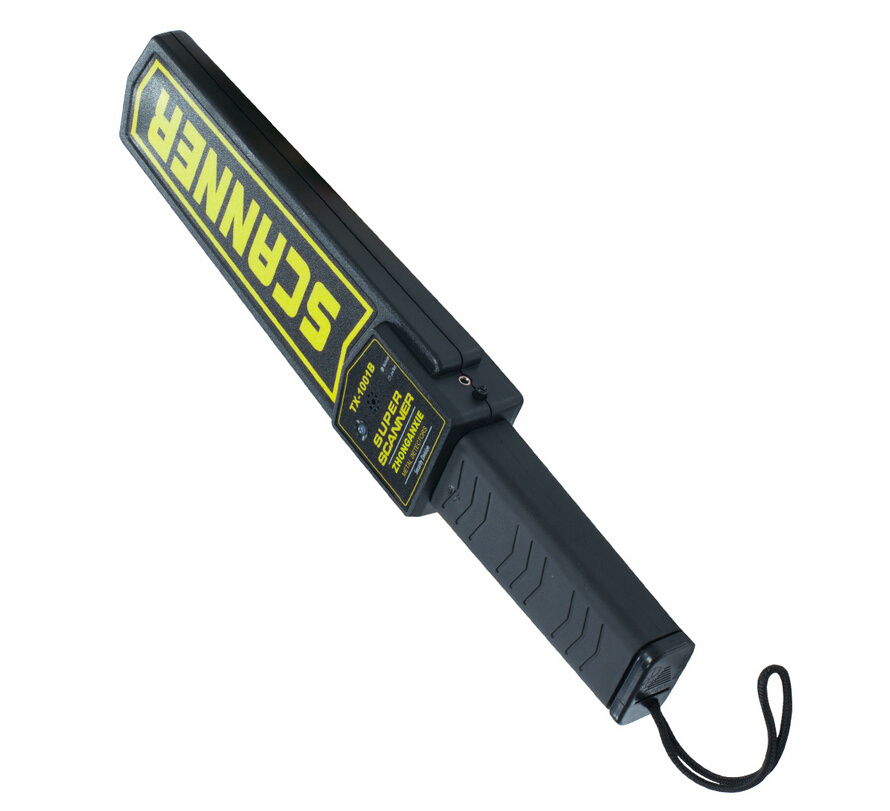 Hand Held Metal Detector Super Wand