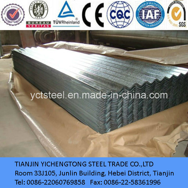 Corrugated Galvanized Steel Plate/Sheet Made in China
