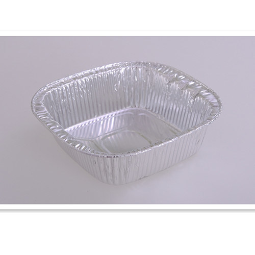 Square with Lid for Catering Used Aluminum Foil Cake Pan