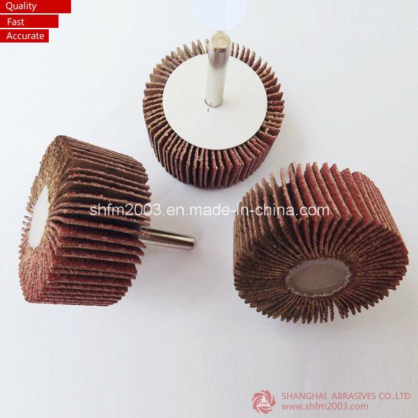 Klingspor Abrasive Mounted Flap Wheel with Shaft (Aluminum Oxide)