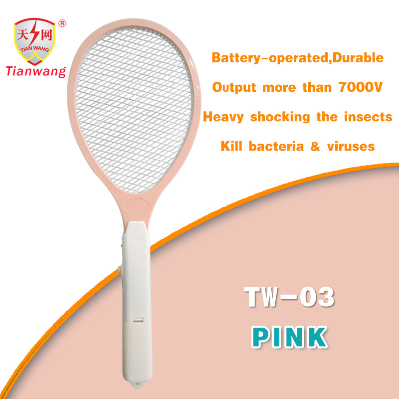 High Voltage High Quality Mosquito Control with Cleaning Brush (TW-03)