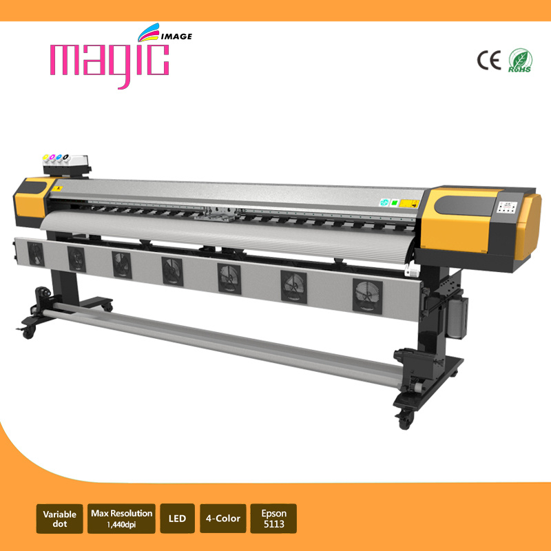 2.1m Wide Format Textile Dye Sublimation Printer with 2 Epson 5113