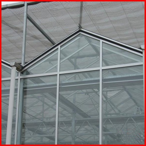 Agriculture Multi-Span Commerical Glass Greenhouse for Garden