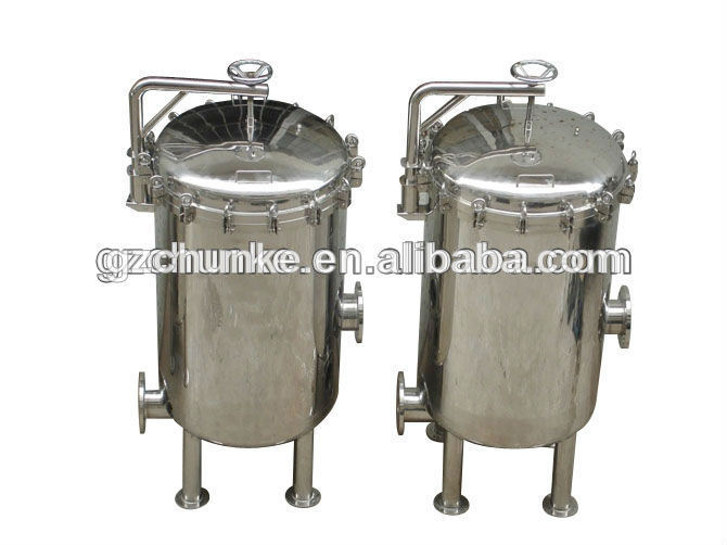 Industrial Ss304 Security PP Cartridge Filter Housing Water Filtration Machine