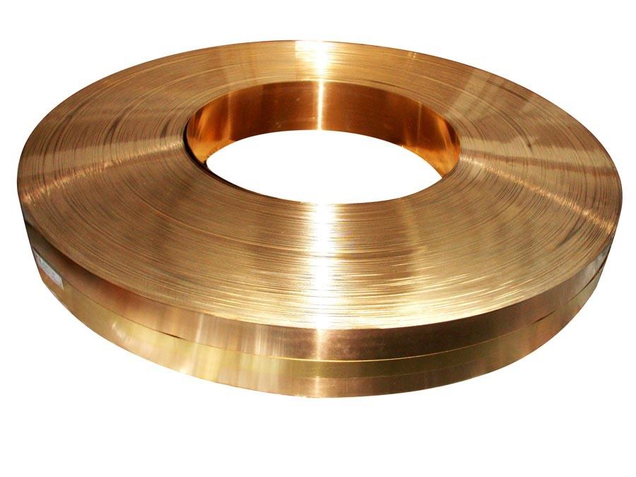 Bimetal Brass Steel Brass Laminated Composite Strip