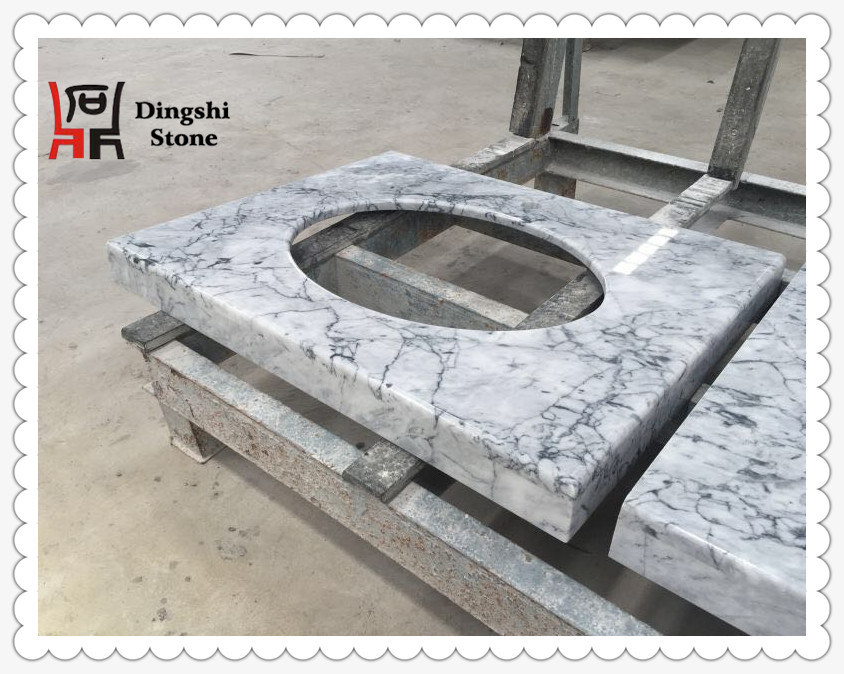 Grey Marble Vanity Top/ Countertop