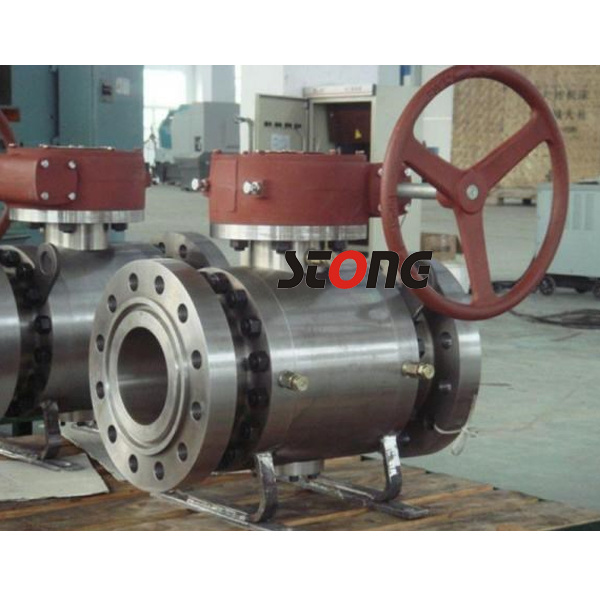 API 3PCS Side Entry Forged Steel Trunnion Mounted Ball Valve