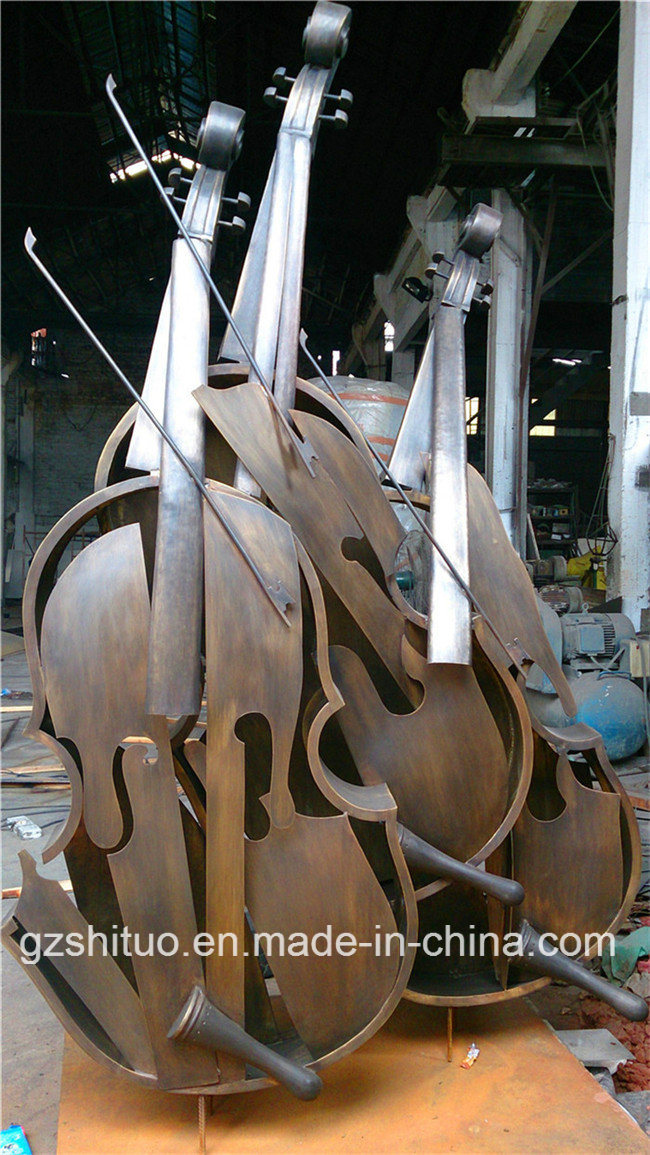 Cello, Suitable for Indoor and Outdoor Bronze Sculpture