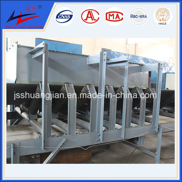 Professional Conveyor Factory DJ Big DIP Angle Belt Conveyor Pipe Conveyor Wide Useful