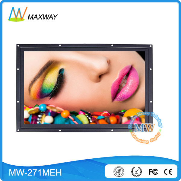 27 Inch LCD Monitor/Panel with High Brightness 700 to 1500CD/M2 Optional (MW-271MEH)