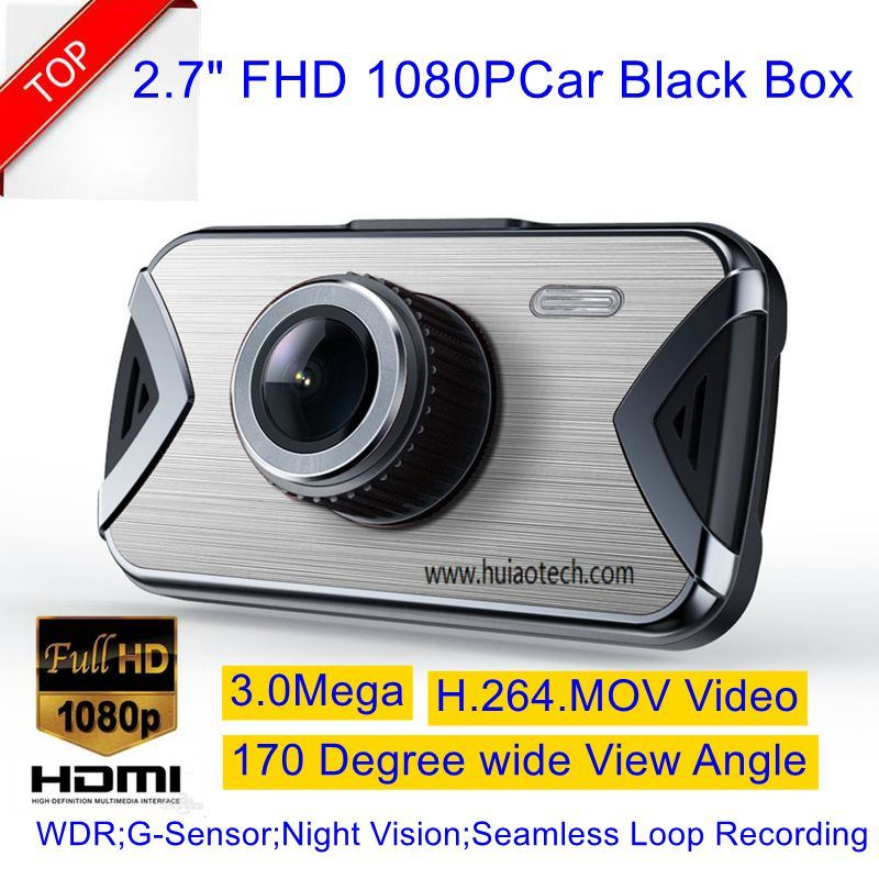 "New 2.7""Car DVR with Novatek 96650 Chipset and Ar0330 Sensor"