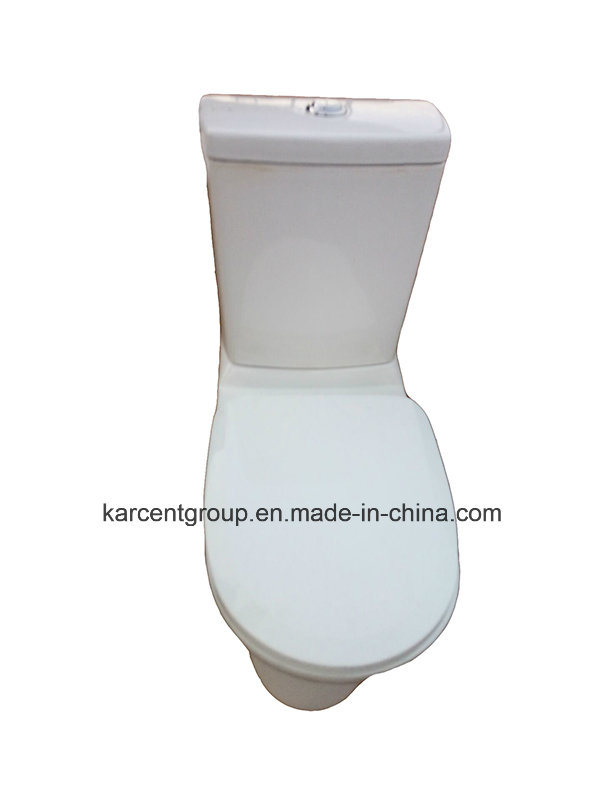 Two Piece Ceramic Toilet Ce Washdown Toilet Water Closet Wc 11812
