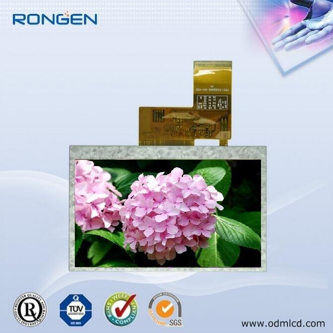 Rg-T430mini-05 4.3inch TFT LCD Screen High Quality Display