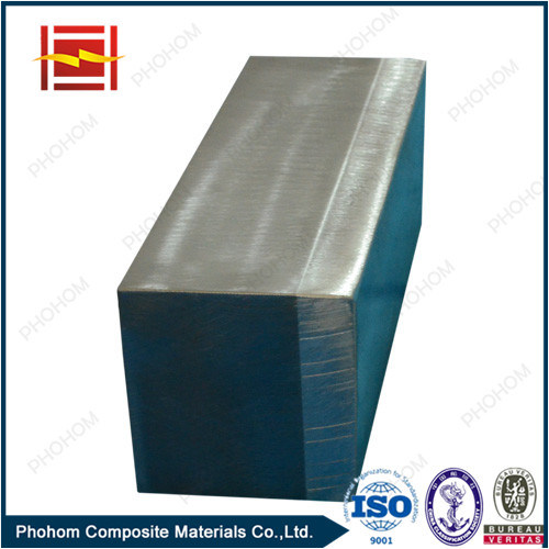 Electrical Transition Joints of Aluminum/Steel Clad Metal