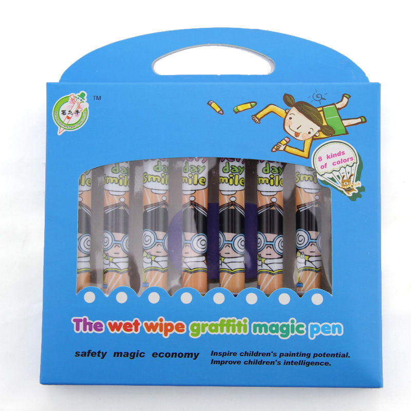 Wholesale The Wet Wipe Graffiti Magic Pen-Struggling Girl