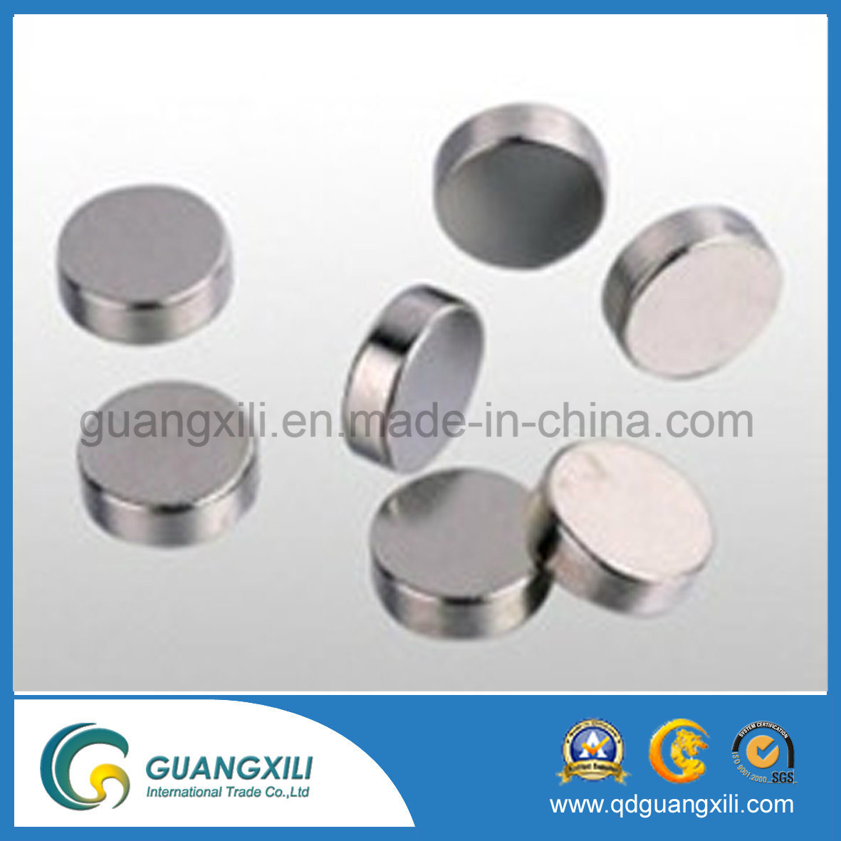N35 Powerful Segment Shaped Magnet with Ni