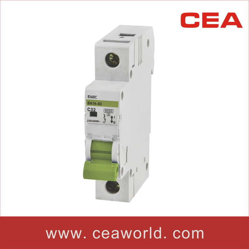 Dz47-63 C45 Miniature Circuit Breaker (MCB)
