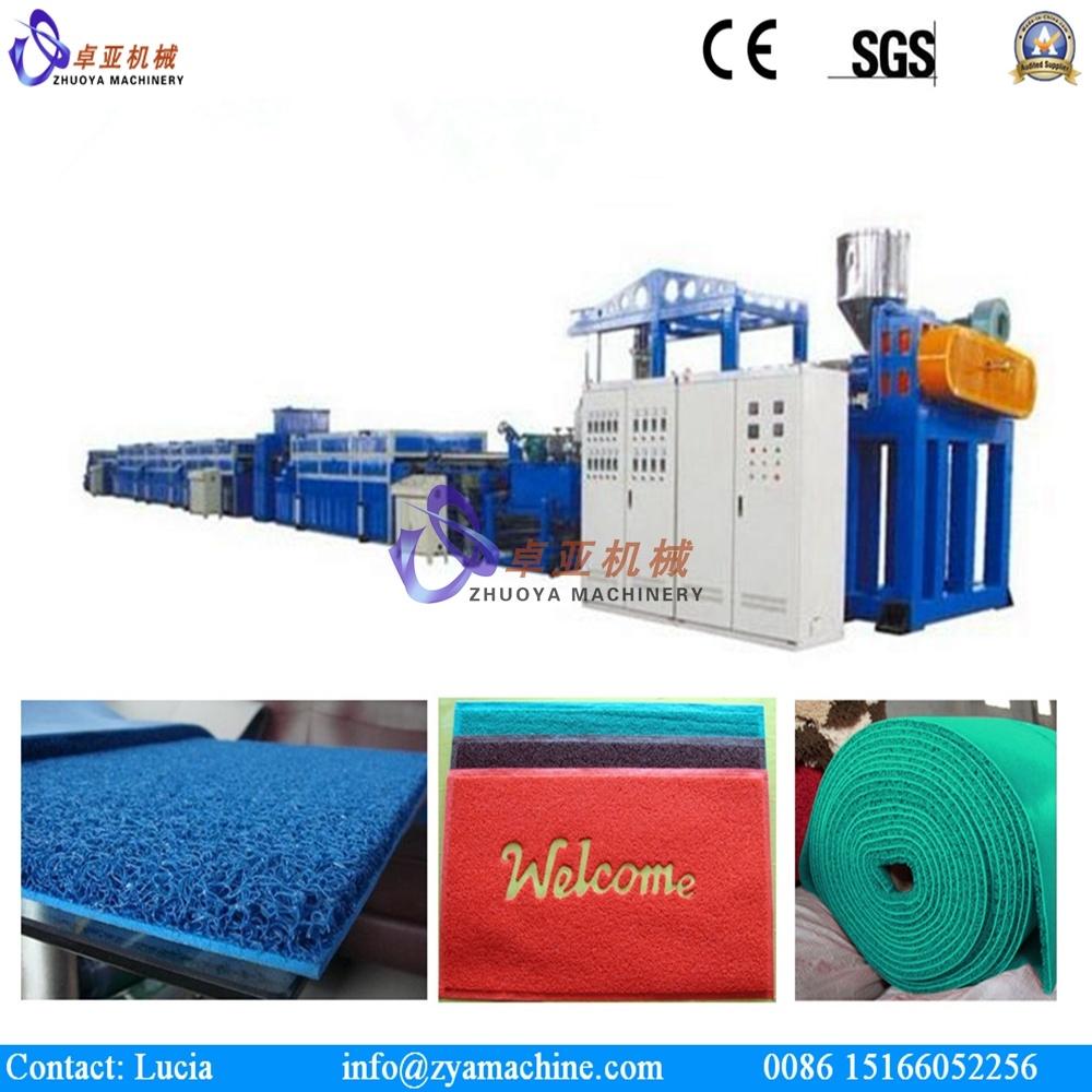 PVC Plastic Mat Extruder Machinery/PVC Car Mat Production Line