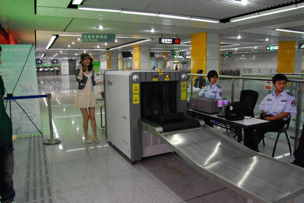 Subway Station Usage X Ray Luggage Security Equipment Xj6550