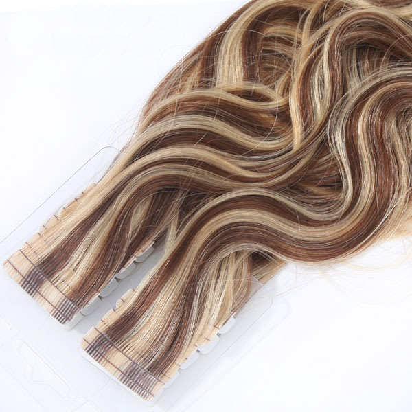 100% Human Remy Seamless Skin Tape Weft Hair Human Hair Extension