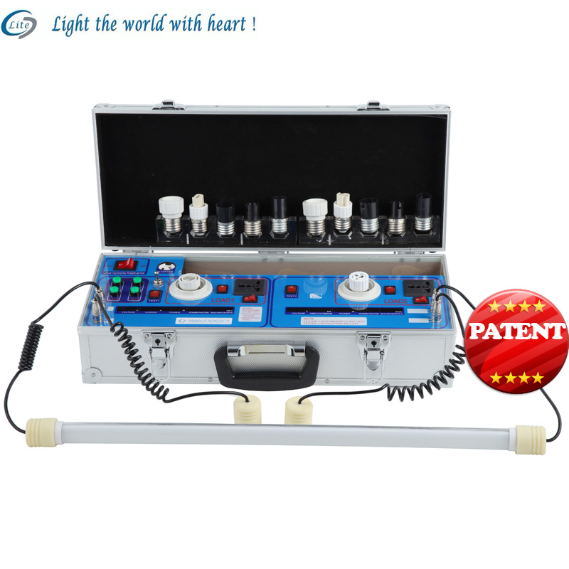 Portable Digital LED Bulb Fluorescent Tube Tester Display Demo Stand