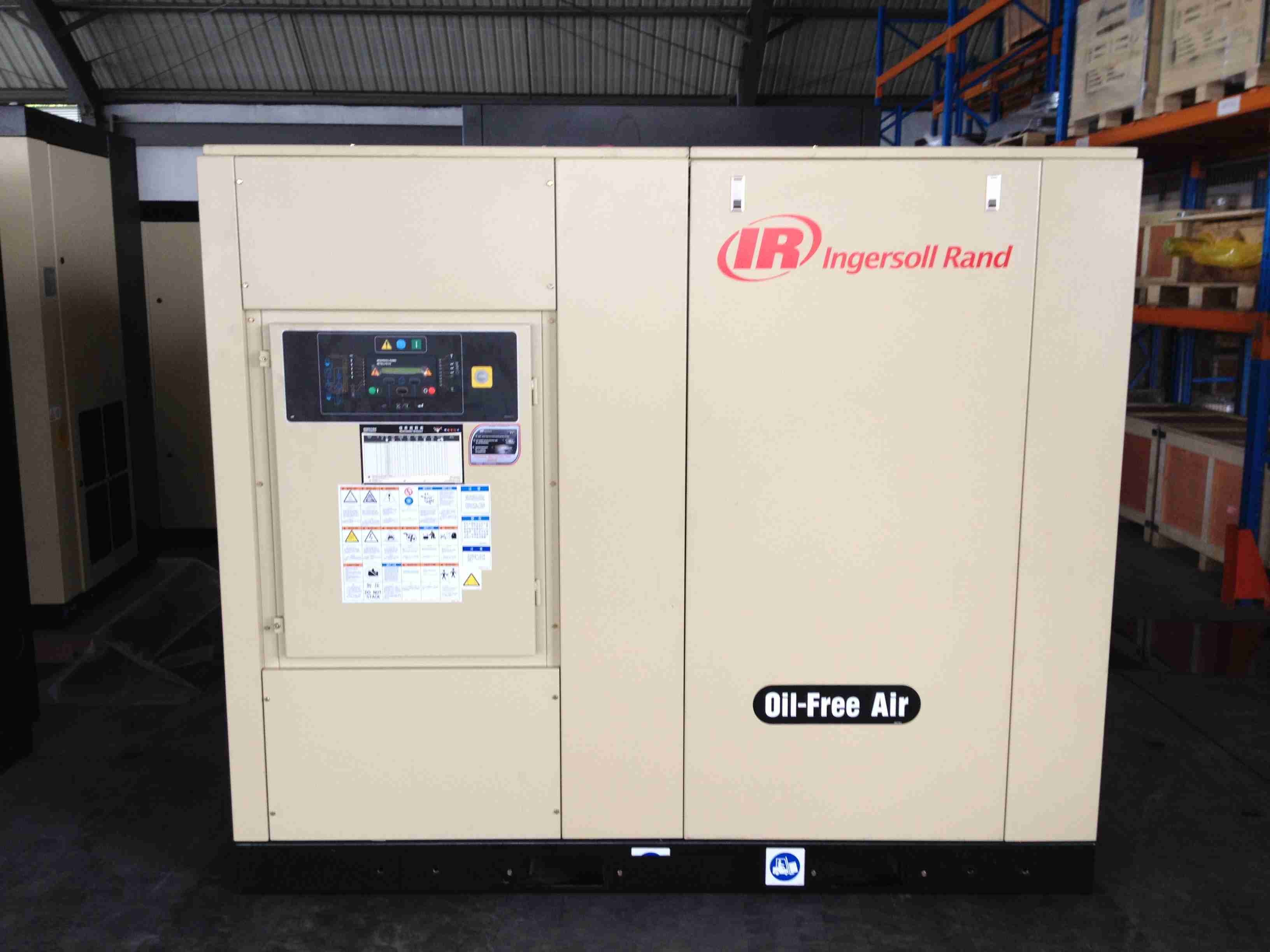 Ingersoll Rand Oil-Free Rotary Screw Air Compressor (SL90 SM90 SH90)