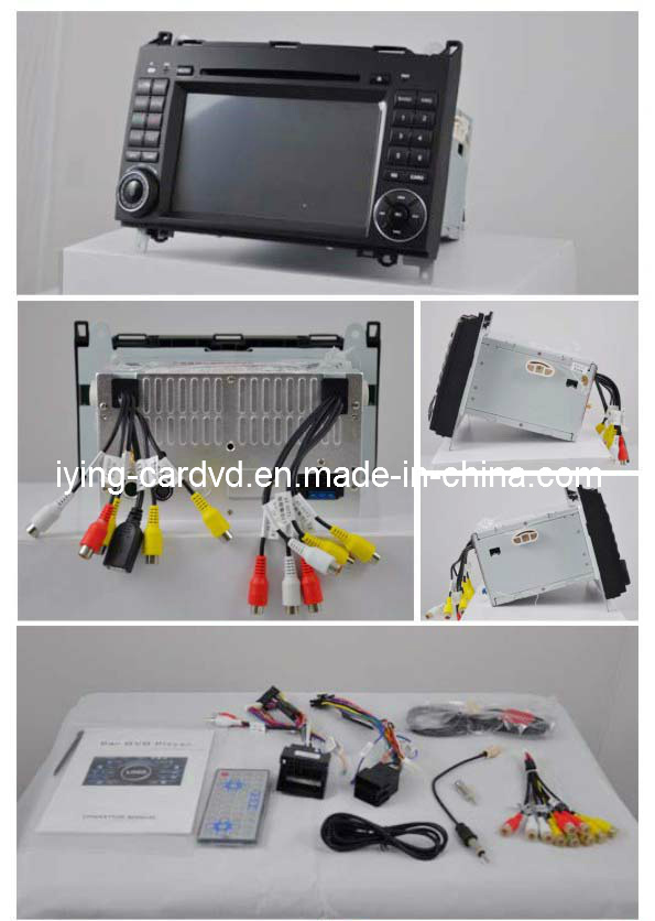 Car Radio for Mercedes Benz Viano Benz B200 Auto Car DVD with GPS iPod RDS High Quality Tuner and CE Approved (IY7200)