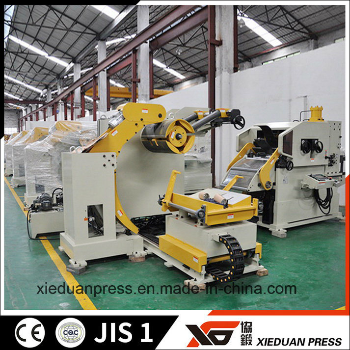 Coil Feeder Die Stamping C Frame Power Press Line
