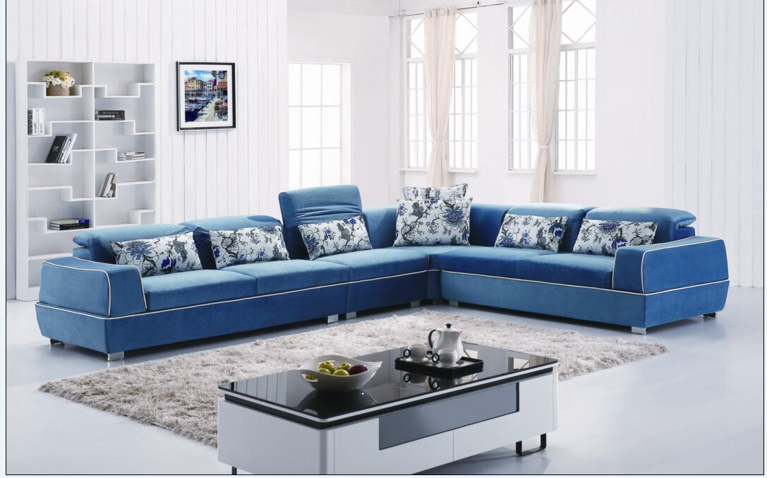 Furniture New Porduct Sectional Fabric Sofa (L. Al608)
