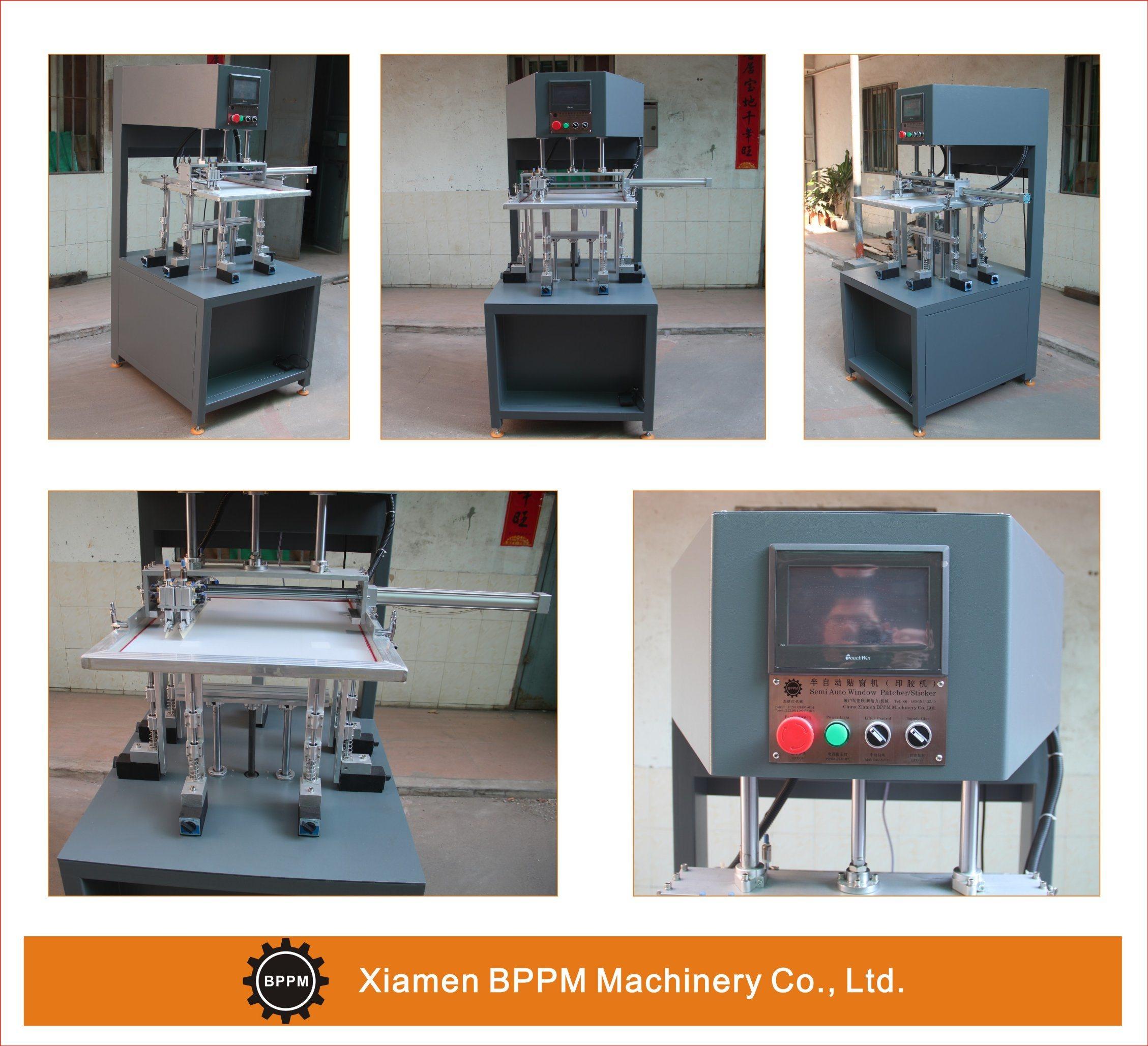 High Quality Semi-Automatic Window Patching Machine