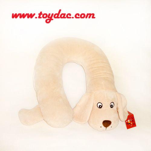 Plush Dog Neck Pillow