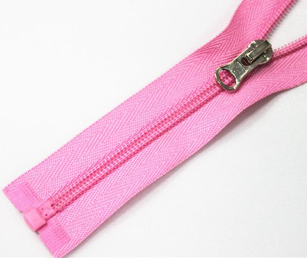 No. 4 Nylon Zipper with Metal Slider