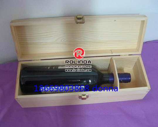 Hot Selling Wooden Wine Packing Box