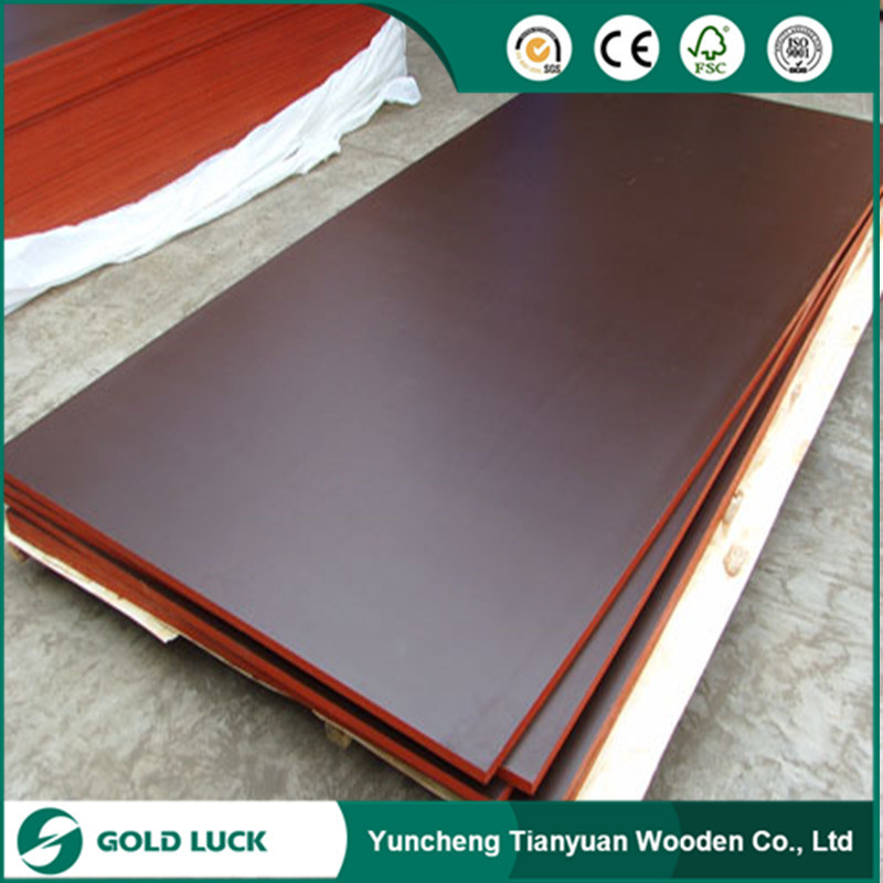 18mm Construction Concrete Formwork Waterproof Film Faced Marine Grade Phenolic Poplar Plywood pictures & photos